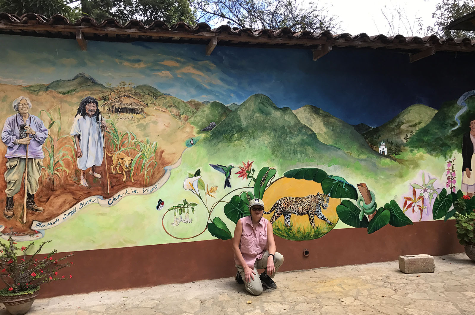 Na Bolom Mural Project – Kelynn Alder